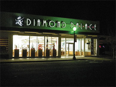 Diamond Palace, Jim Kellison's last business  in marysville, california