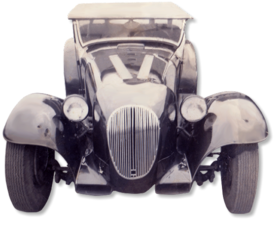 photo of Jim Kellison's first roadster